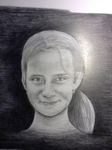 ceruza - portrét 3